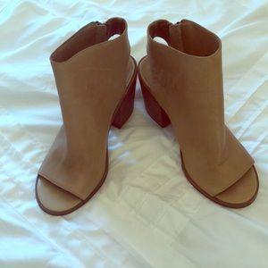 Steve Madden open toe heels
